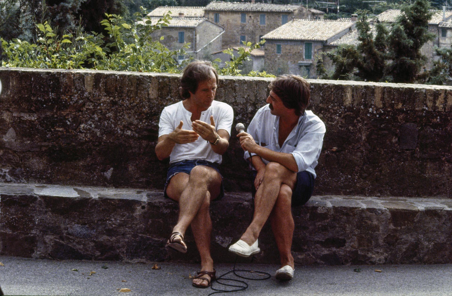 Yves Lebreton intervistato da Walter Lucherini